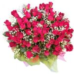 69 Red Roses Bouquet