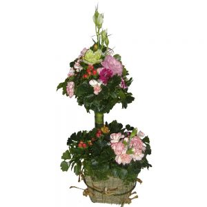 Flower garden mixed basket