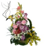 Mixed basket of flowers