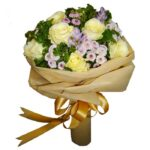 White Rose Mixed Bouquet