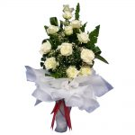 White Roses large bouquet