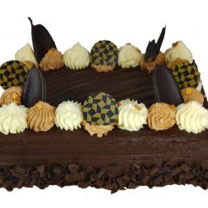 Chocolate Fudge Cake close up