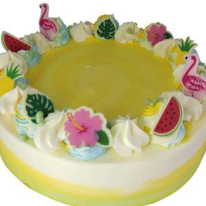 Vanilla Butter Cake close up