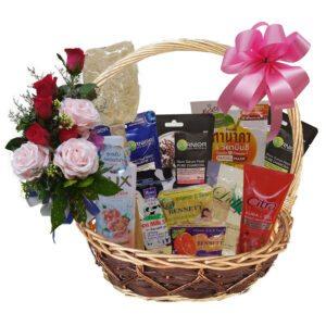 Bathroom Pamper Gift Basket